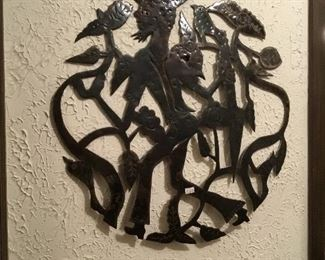 metal work piece South America
