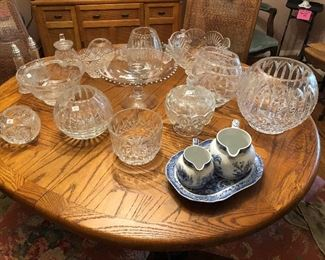 Waterford, crystal, candlewick, Spode