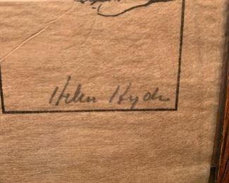 Helen Hyde, ca 1904 , American Engraver