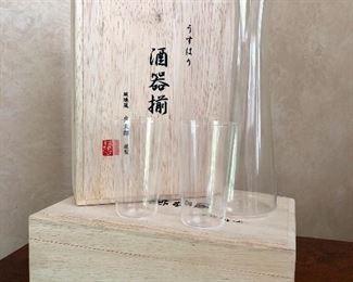 Usuhari Sake Set