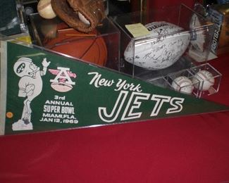 Super Bowl III New York pennant