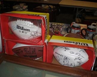 more autographed footballs