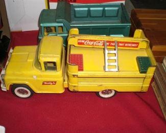 """""""Buddy-L"""" Coca-Cola delivery truck"""