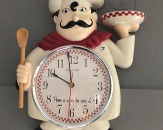 Cook clock