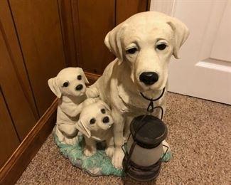 Dog lantern