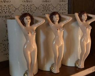 Ceramic steins with nude handles