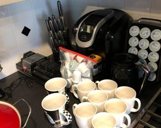 Small appliances, Keurig and others.....