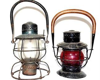 2 RR Lanterns