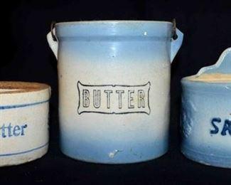 SALT & BUTTER CROCKS