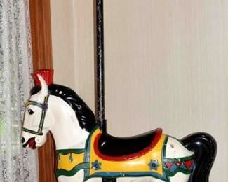 CAROUSEL HORSE FROM DOLING PARK