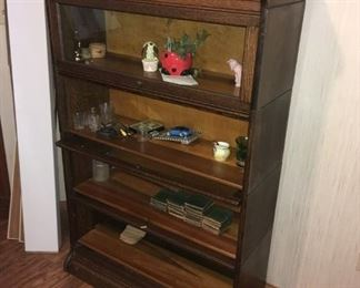 Early 1900's 4-STACK LAWYER'S BOOKCASE