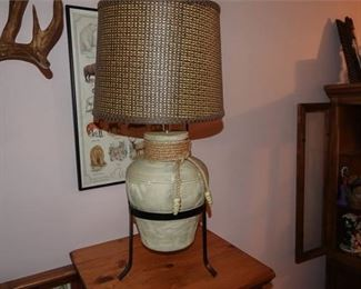 72. Urn Shaped Table Lamp