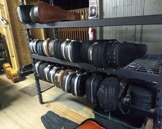 Violins & Violas Violins with cases