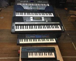 Many Yamaha keyboards $40 or less