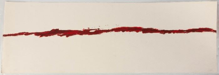 Antoni Tapies (Spanish, 1923-2012) L'horizon