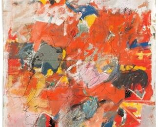 "Henry Botkin (American, 1896-1983) ""Warm Light"" 1958"