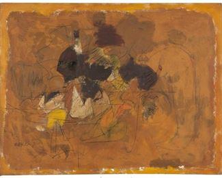 "Henry Botkin (American, 1896-1983) ""For Rhonda"" 1959"