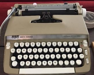 SCM Smith Corona Marchant Typewriter.
