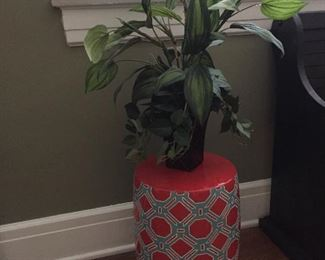 Decorator Ceramic Stool/Plant Stand.