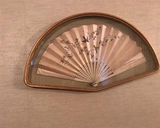 Vintage Fans, framed