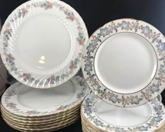 Bone China Dinner and Luncheon Plate Sets