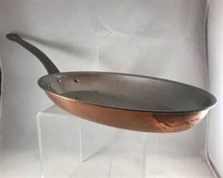 Bourgeat Oval Fry Pan