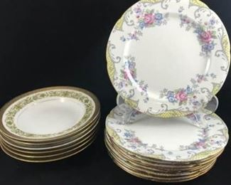 Bowls and Luncheon Plates