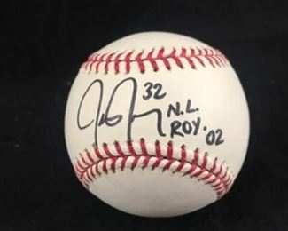 Jason Jennings Autographed Baseball
