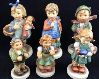 Lot of 6 Hummel Figurines