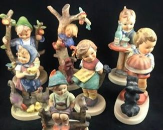 Lot of 7 Hummel Figurines