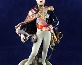 Poniatowski German Figurine