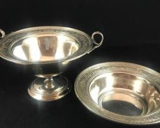 Sterling Silver Baptismal Cup and Bowl