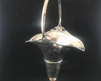 Sterling Silver Handled Vase