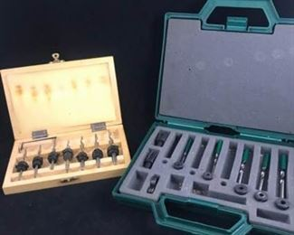Two Box Sets of Drill Bits
