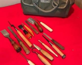 Woodcraft Bag with Tools