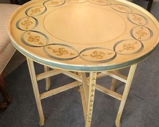 Painted Round Table $ 98.00