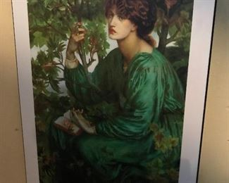 Large Rossetti print