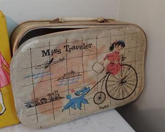 Ponytail Miss Traveler Case