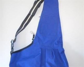 """Small dog over the shoulder carrying purse - 10 x 6"""" area for dog        https://ctbids.com/#!/description/share/166586"""