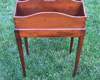 Antique Cutlery Box with Stand