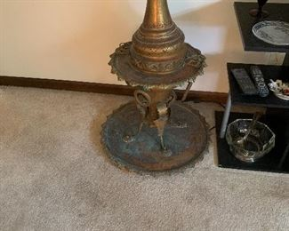 Turkish brass heater/brazier