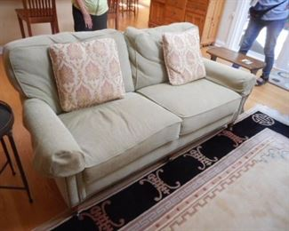 Hancock & Moore sofa, with down filled cushions