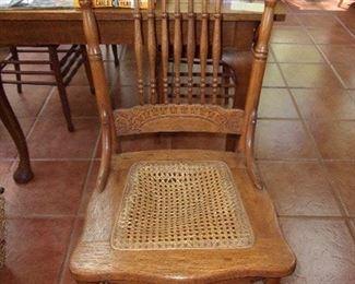 Antique Oak Chairs Larkin