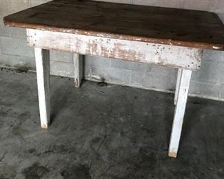 120 year old table