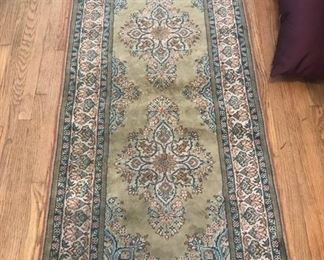 cotton and silk turkish rug