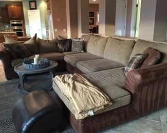 western style couch