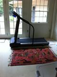 Exercise Equipment and Oriental War Rug