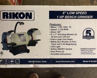 Brand new Rikon Bench Grinder