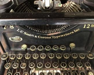 LC Smith and Corona Typewriter...for your next novel