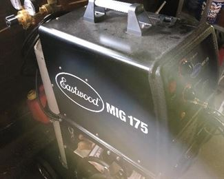 Practically brand new Eastwood MIG welder with tanks, etc.!